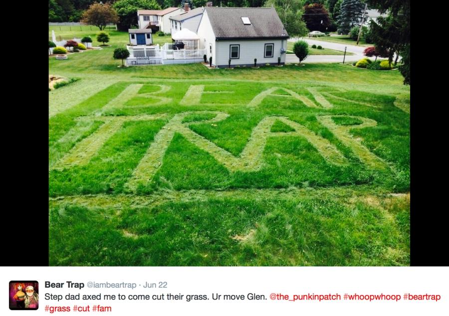 bear trap lawn