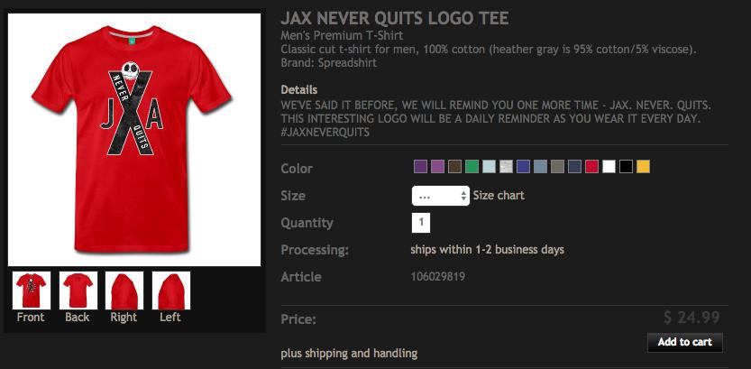 jax-never-quits-tee